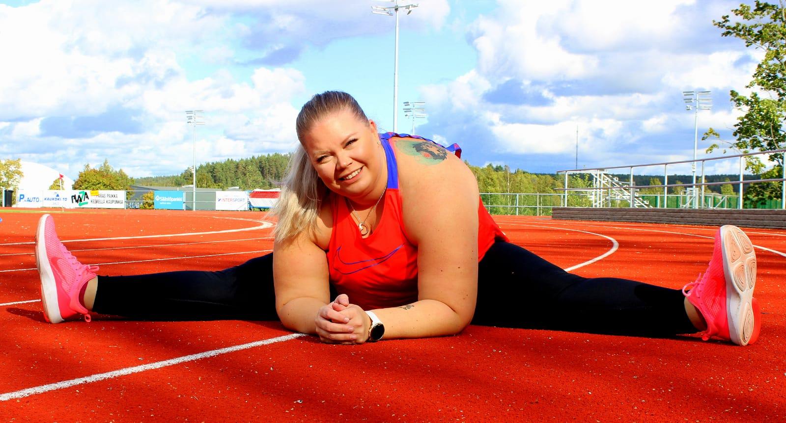 Lihavuusleikattu personal trainer